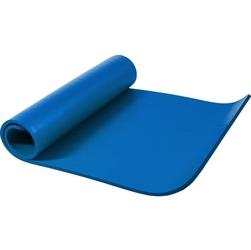 Mata do ćwiczeń fitness jogi duża 190x100x1,5cm antypoślizgowa błękitna