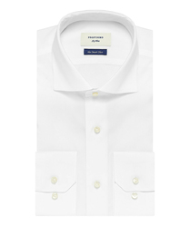 Elegancka biała koszula męska Profuomo Sky Blue - smart shirt 44