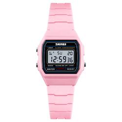 Zegarek damski SPORTOWY SKMEI 1460 LED pink - PINK