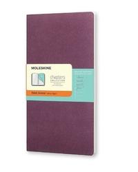 Notes Moleskine Chapters Journal L purpurowy w linie