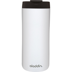 Biały kubek termiczny ze stali nierdzewnej, Leak-Lock™ Aladdin 0,35 Litra 10-08542-005