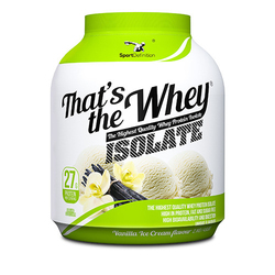 SPORT DEFINITION Thats The Whey - 2270g - Strawbery Banana