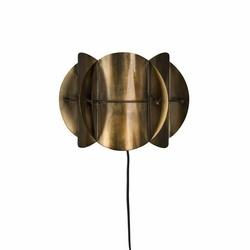 Dutchbone :: Lampa ścienna Corridor Antique mosiądz - mosiężny