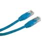 UTP patchcord UTP patchcord, Cat.5e, RJ45 M-10m, nieekranowany, niebieski, economy
