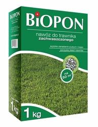 Biopon, nawóz granulowany do trawnika zachwaszczonego, 1kg