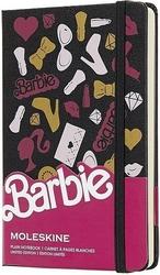 Notes Moleskine Barbie P edycja limitowana akcesoria