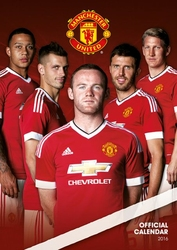 Manchester United - kalendarz 2016 r.
