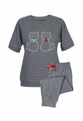 Muzzy Koty 8104 piżama damska