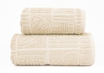 BONITA KREMOWY ręcznik bawełniany GRENO - kremowy