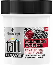 Taft Looks Carbon Force, pasta do stylizacji włosów, 130 ml