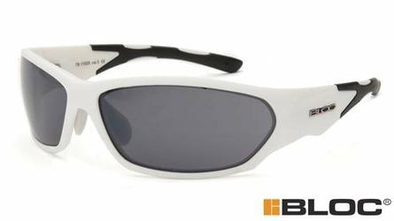 Białe Okulary sportowe BLOC california x501
