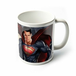 Człowiek ze Stali Superman i Generał Zod - kubek