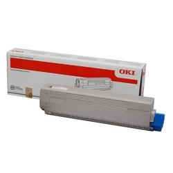 Toner Oryginalny Oki C833C843 10K 46443102 Purpurowy - DARMOWA DOSTAWA w 24h
