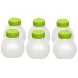 Pojemniki do jogurtownicy SEBTEFAL XF102000  6 szt  pojemność 1 pojemnika 200 ml  szkło