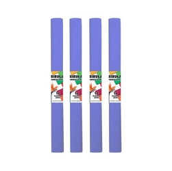 Bibuła marszczona 50x200 cm - fioletowa jasna - FIOJAS