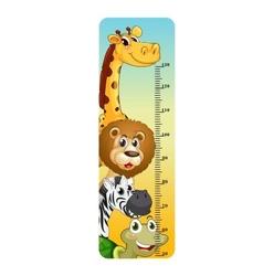 naklejka miarka wzrostu zwierzątka 5