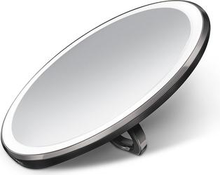 Lusterko sensorowe podręczne Simplehuman czarne