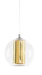 KASPA :: Lampa wisząca Merida S złota - złoty