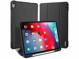 Etui Dux Ducis domo Apple iPad Pro 11 2018 Czarne - Czarny