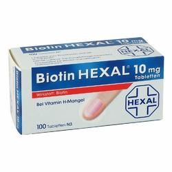 Biotin Hexal 10 mg Tabl.