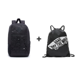 Plecak VANS Mn Snag Backpack Black Os - VN0A3HCBBLK 047 + Worek szkolny - 23694