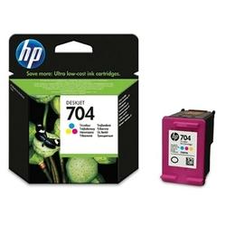Tusz Oryginalny HP 704 CN693AE Kolorowy - DARMOWA DOSTAWA w 24h