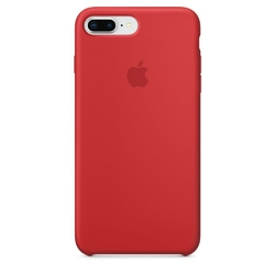 Apple iPhone 8 Plus  7 Plus Silicone Case - PRODUCTRED