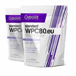 OSTROVIT WPC 80.eu Standard - 900g x 2 - White Chocolate