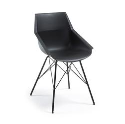 Krzesło CUTRA czarne - czarny