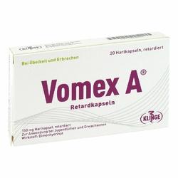 Vomex A Retardkapseln N