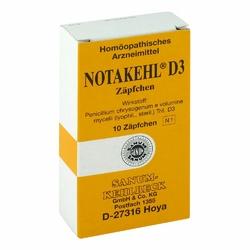 Notakehl D3 w czopkach