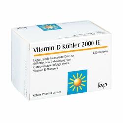 Witamina D3 Köhler  2000 I.E.,  kapsułki