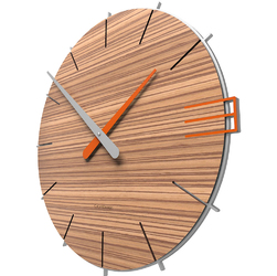 Zegar ścienny Mike CalleaDesign zebrano 10-019-87