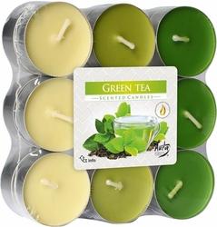 Bispol, Zielona herbata, podgrzewacze zapachowe, 18 sztuk