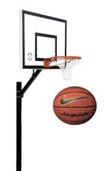 Zestaw do koszykówki 502 Sure Shot Home Court + Piłka do koszykówki Nike Dominate 8P
