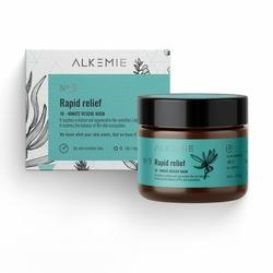 Alkemie Cosmetics, MICROBIOME 10-minutowa maska gasząca zaczerwienienia RAPID RELIEF, 60ml