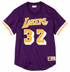 Koszulka Mitchell  Ness NBA Magic Johnson Los Angeles Lakers - Johnson