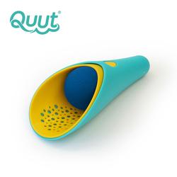 QUUT Zestaw 2 łopatek wielofunkcyjnych z piłeczką Cuppi Lagoon Green + Yellow + Blue ball