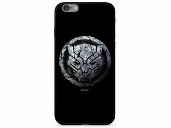 Etui z nadrukiem Glass Marvel Czarna Pantera 015 Apple iPhone 78