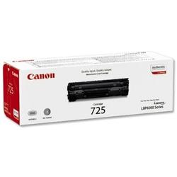 Toner Oryginalny Canon CRG-725 3484B002 Czarny - DARMOWA DOSTAWA w 24h
