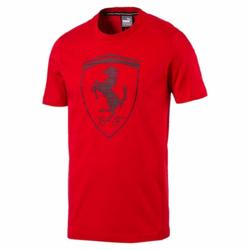 Koszulka T-shirt Puma Ferrari Shield - 572805-02 - Czerwony