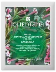 Orientana, Maska pod oczy z Jedwabnej Tkaniny Kaskaryla, 1szt.