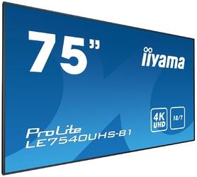 Monitor LED IIYAMA LE7540UHS-B1 4K 75 - Szybka dostawa lub możliwość odbioru w 39 miastach