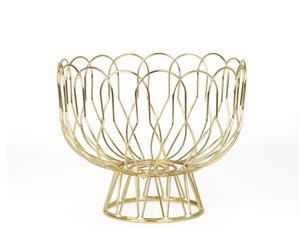 Present Time :: Misa Wired złota Ø26cm - mosiężny