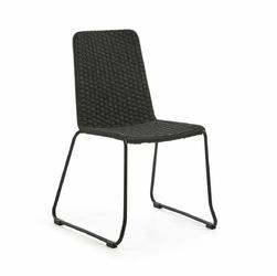 Krzesło VANDYKE 58x57 kolor szary - ciemno szary