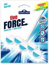 General Fresh, Five Force, Morska, zawieszka do toalety, 50g