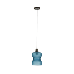 Lampa wisząca NAVOJA niebieska - niebieski