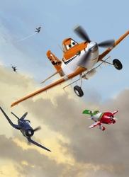fototapeta Disney Samoloty 4452