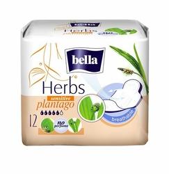 Bella Herbs Babka Lancetowata, podpaski higieniczne, 12 sztuk