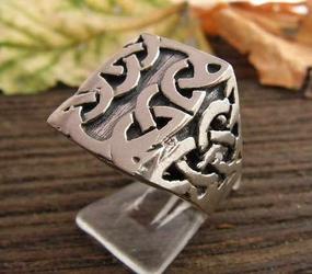 VITO - srebrny pierścionek sygnet